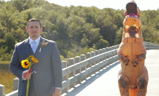 bride-t-rex-first-look-wedding-prank-beth-tom-gardner-coverimage